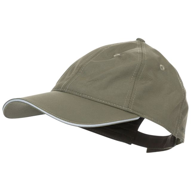 Cosgrove Adults' Active Baseball Cap  in Khaki, Hat at angled view