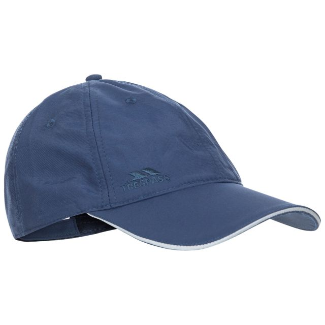 Cosgrove Adults' Active Baseball Cap  in Navy, Side view of hat