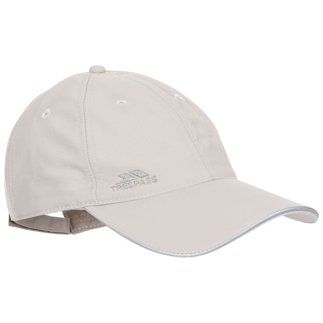 Cosgrove Adults' Active Baseball Cap  in Beige, Side view of hat