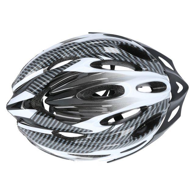 Trespass Adult Bike Helmet in White Crankster