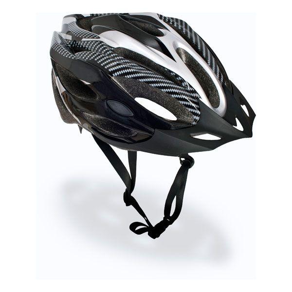 Trespass Adult Bike Helmet in Black Crankster