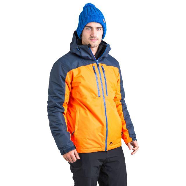 Crashed Men's Waterproof Ski Jacket in Yellow
