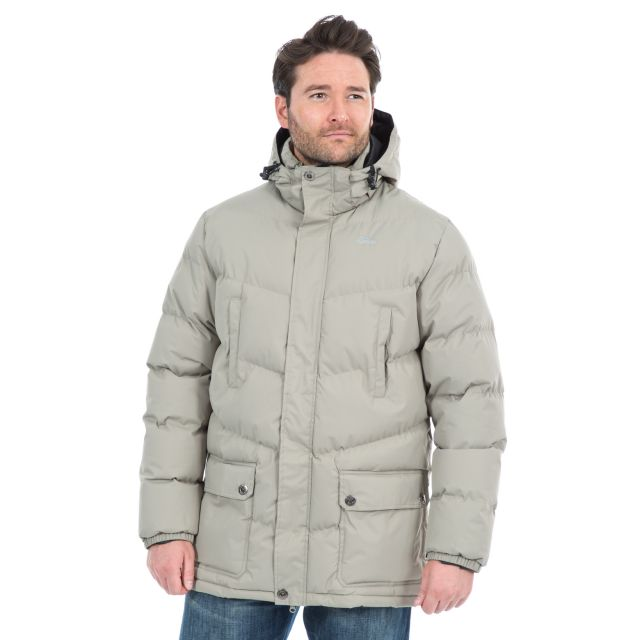 Cumulus Men's Padded Casual Jacket in Beige