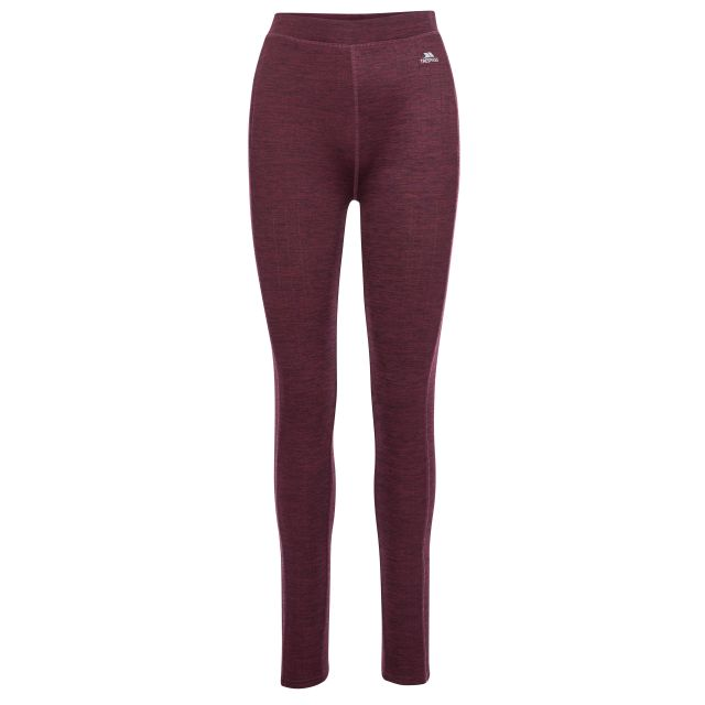 Dainton Women's Base Layer Pants - FIG, Front view on mannequin