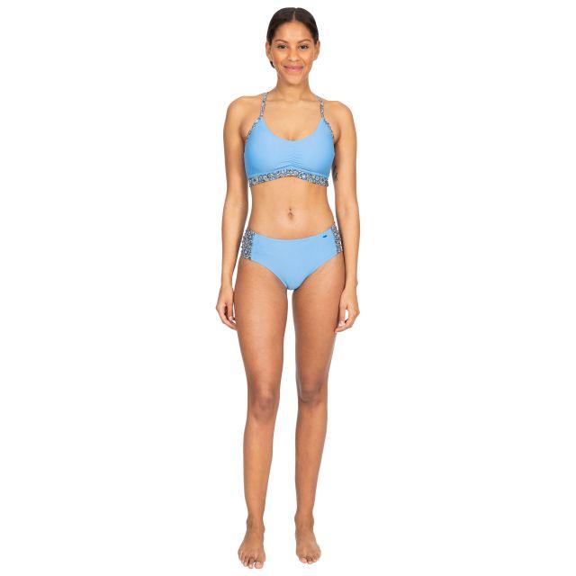 Daisy Women's Bikini Top in Light Blue