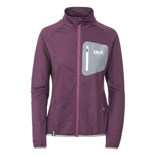 Darby Women's DLX Active Jacket in Purple