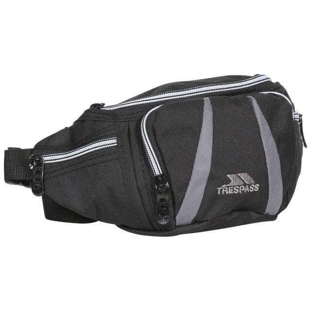 DAX 2.5 Litre Bum Bag in Black, Front view