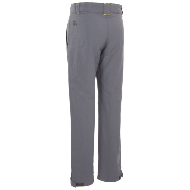 Trespass Kids Walking Trousers UV40+ Fully Lined Decisive Grey