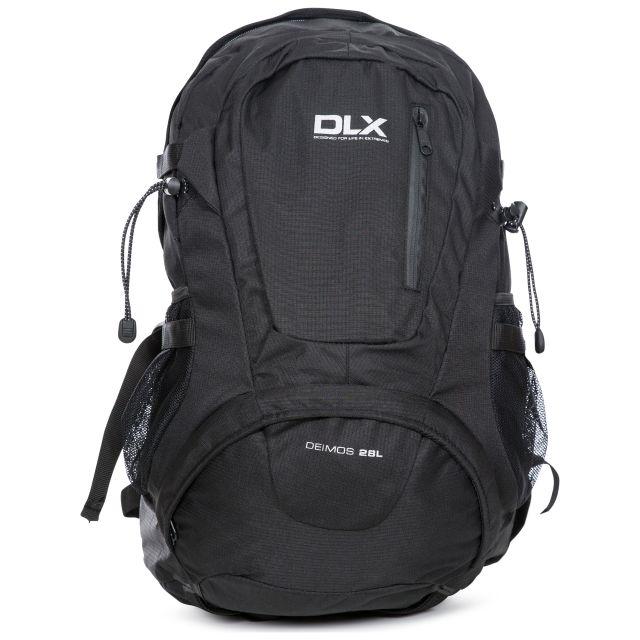 Deimos DLX 28L Rucksack in Black, Back view