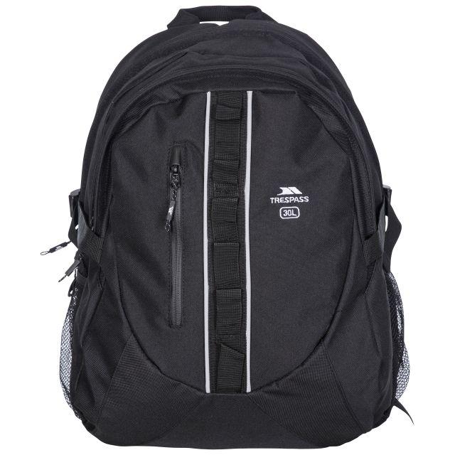 Trespass 30L Laptop Backpack in Black Deptron