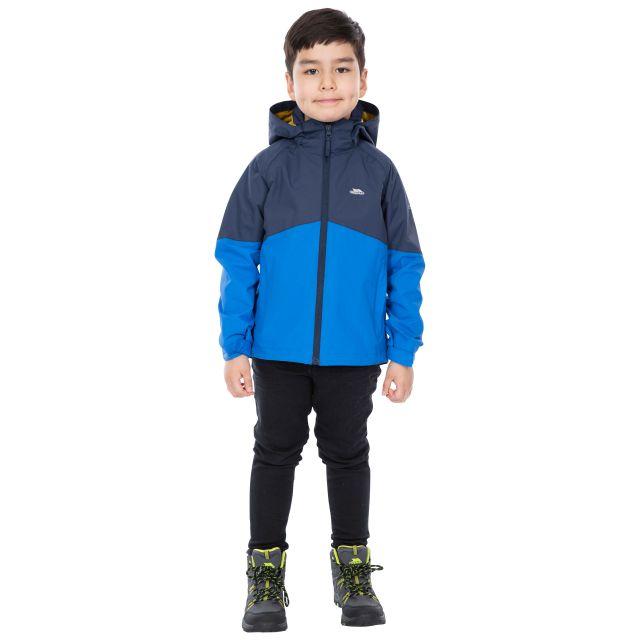 Trespass Kids Waterproof Jacket in Navy Dexterous