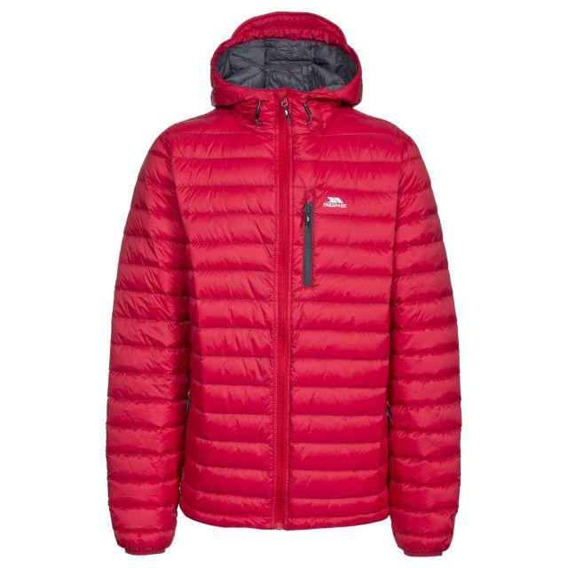 Digby Men's Down Packaway Jacket in Red