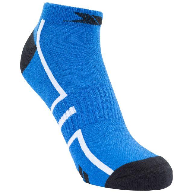 Trespass Unisex Trainer Sock in Blue Dinky