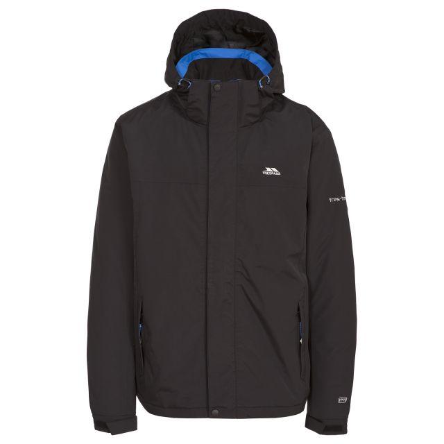 Donelly Men's Waterproof Jacket in Black