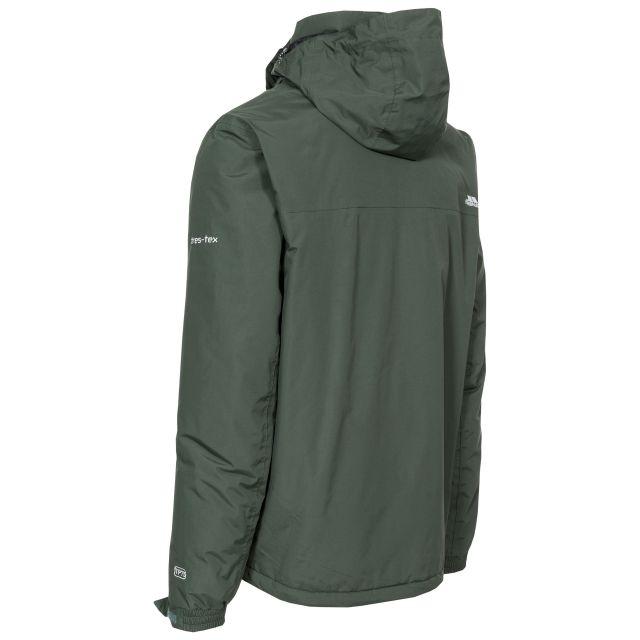Donelly Men's Waterproof Jacket in Khaki