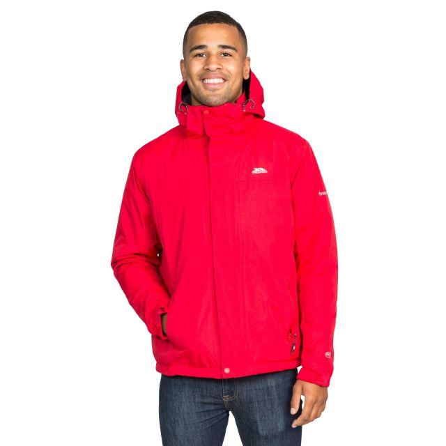 Donelly Men's Waterproof Jacket in Red