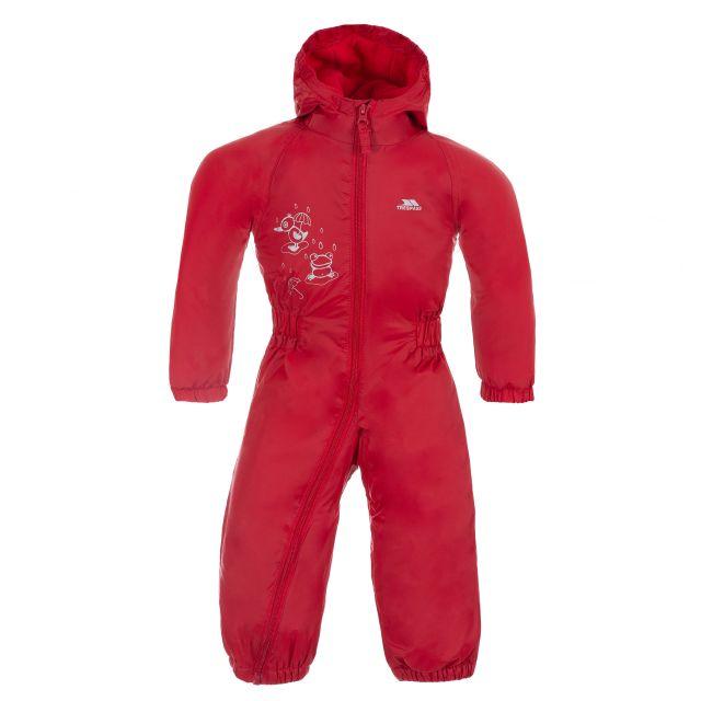 Dripdrop Babies' Rain Suit in Red