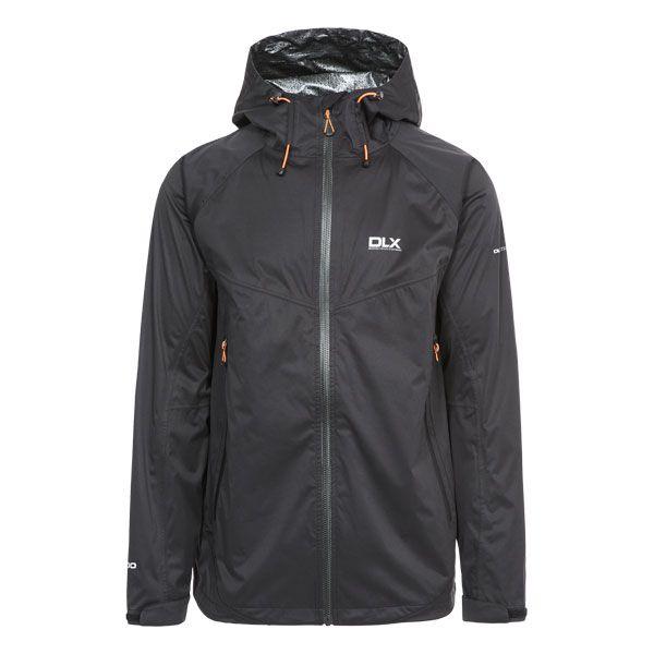 DLX Mens Waterproof Jacket Edmont ii in Black