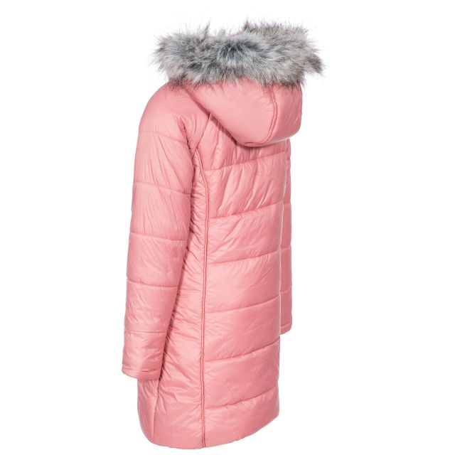 Trespass Kids Padded Casual Jacket in Pink Elimore