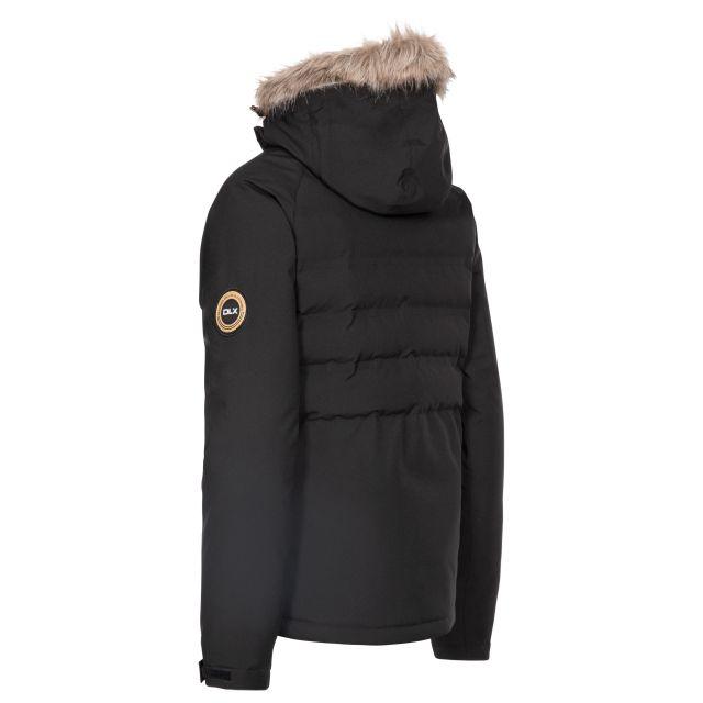 DLX Womens Ski Jacket with RECCO Elisabeth in Black