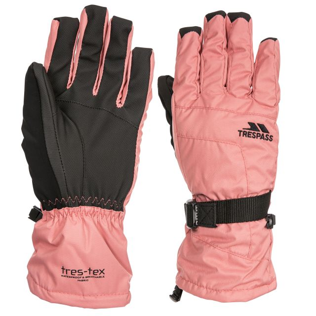Embray Adults' Ski Gloves in Pink