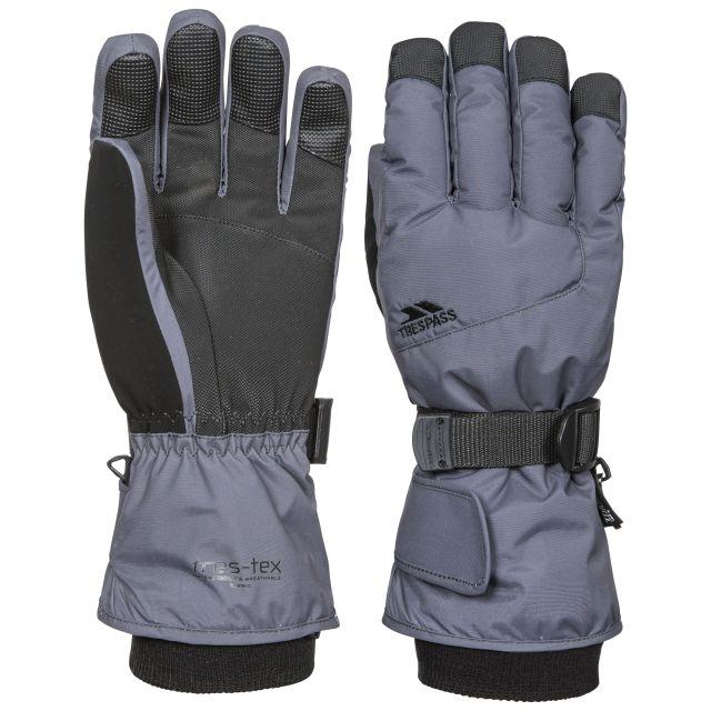 Trespass II Adults Ski Gloves in Grey Ergon