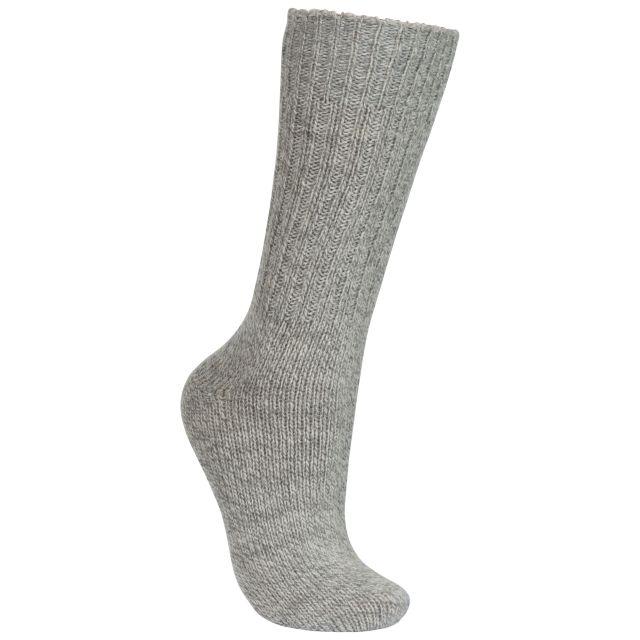 Trespass Unisex Wool Blend Walking Socks in Beige Espen