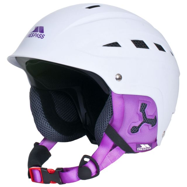 Trespass White Ski Helmet Davenport in White