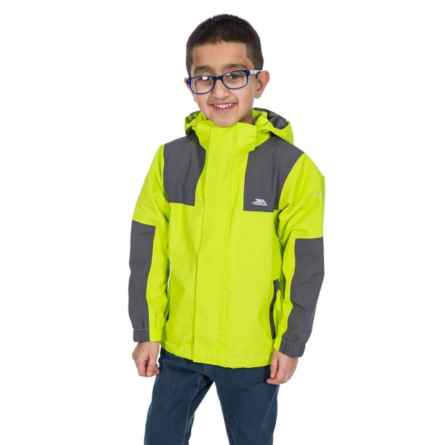 Trespass Kids Waterproof Jacket in Green Farpost