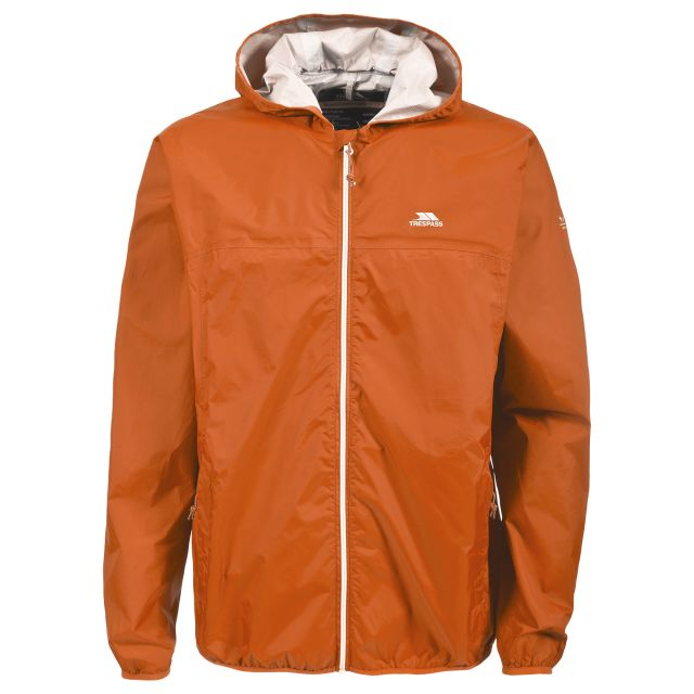 Trespass Adults Packaway Jacket in Yellow Fastrack