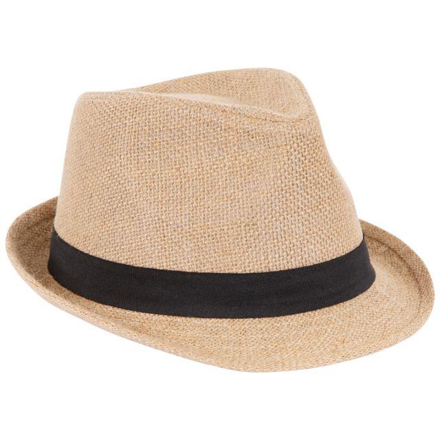 Trespass Unisex Fedora Hat in Beige