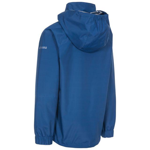 Trespass Kids Waterproof Jacket in Blue Fenna