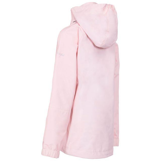 Trespass Kids Waterproof Jacket in Light Pink Fenna