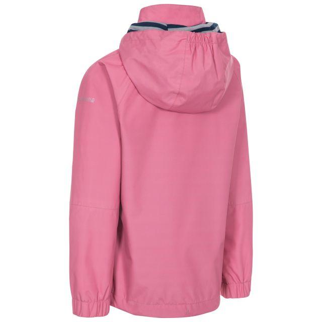 Trespass Kids Waterproof Jacket in Pink Fenna