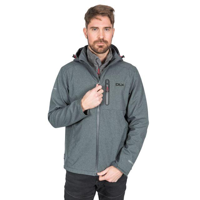 Ferguson II Men's DLX Breathable Softshell Jacket in Grey