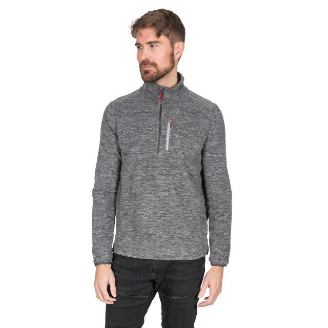 Flatlid Men's 1/2 Zip Fleece in Grey