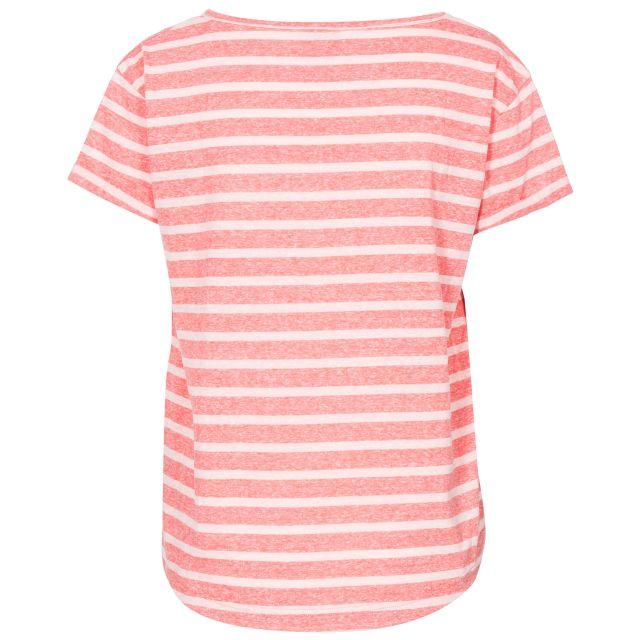 Fleet Women's Striped T-Shirt in Peach