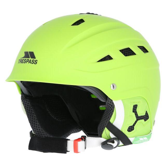 Trespass Adults Lime Green Ski Helmet Furillo