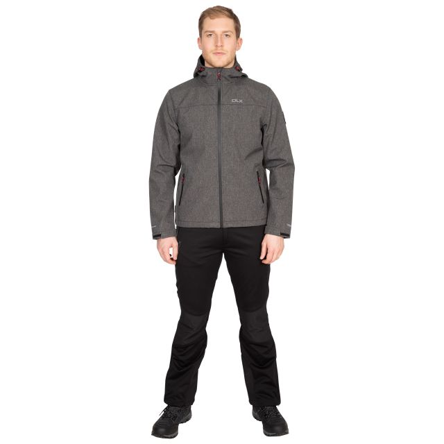 Gabe Men's DLX Softshell Jacket in Black