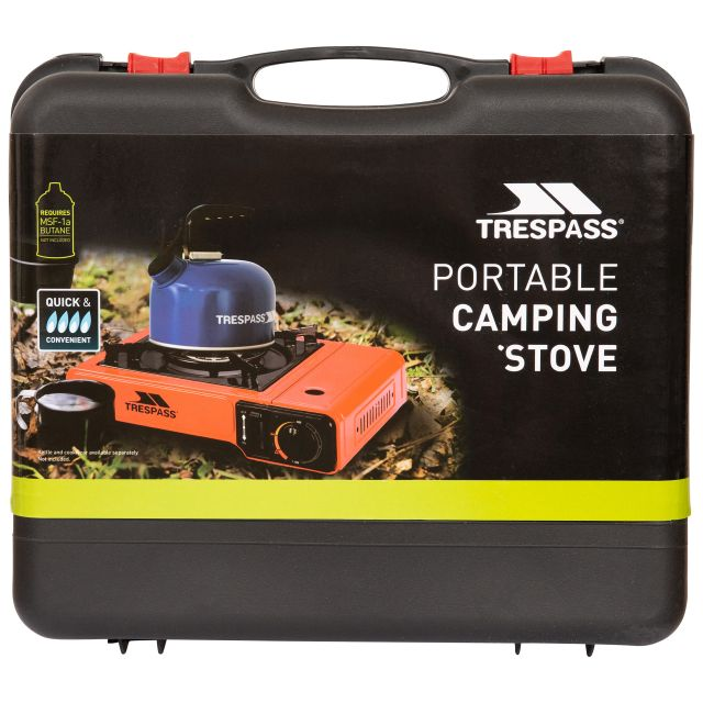 Gas Camping Stove in Red