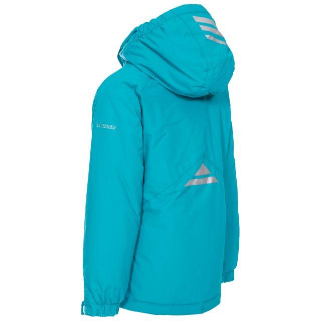 Trespass Kids Padded Waterproof Jacket in Blue Georgian