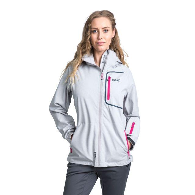 DLX Womens Softshell Jacket Gita II in Grey