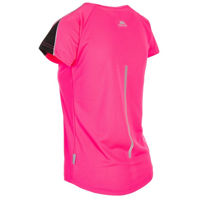 Gliding Women's Quick Dry T-Shirt in Pink