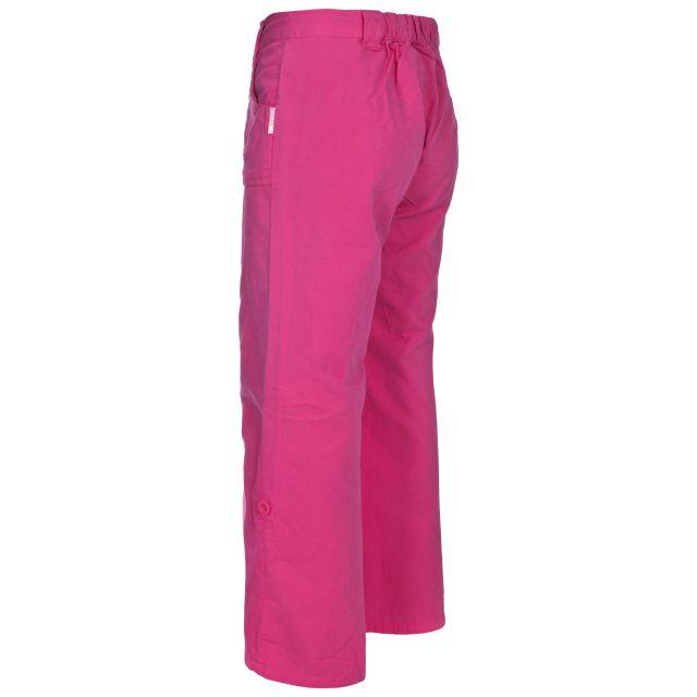 Trespass Kids Roll-Up Trousers in Pink Glitz