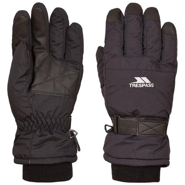 Trespass II Adults Ski Gloves in Black Gohan