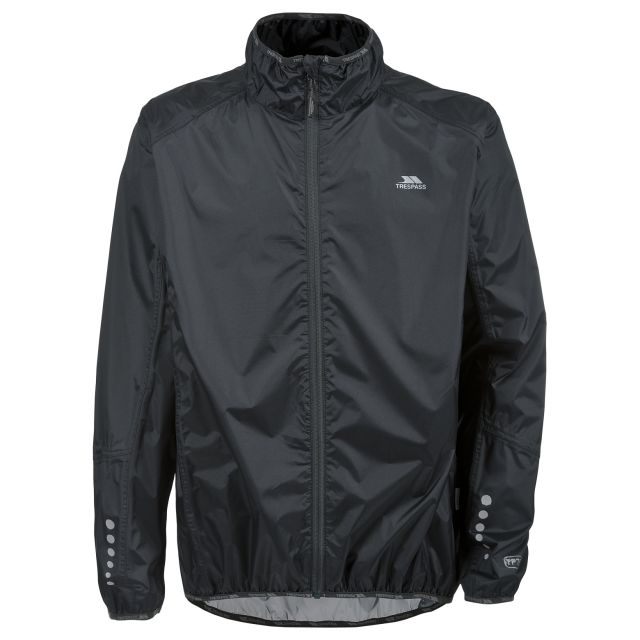 Grafted Men's Waterproof Cycling Jacket in Black