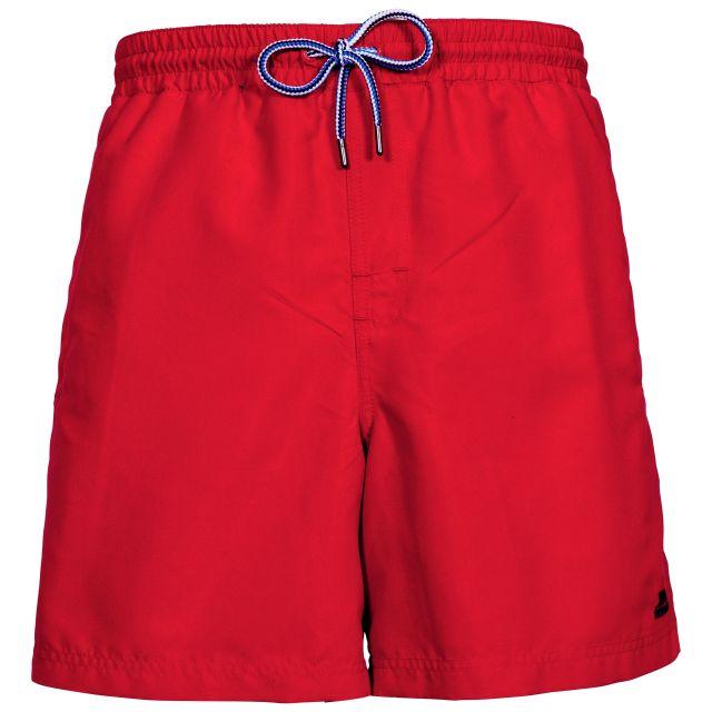 Granvin Men's Swim Shorts in Red