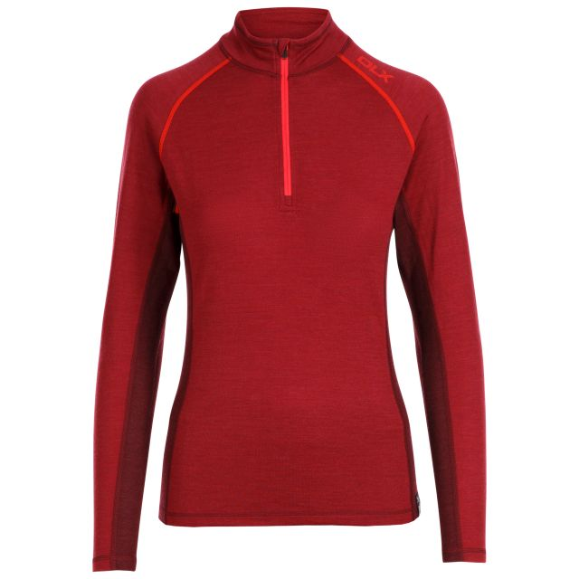 Trespass Womens Base Layer Gretal - DHM, Front view on mannequin