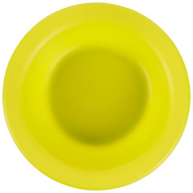 Plastic Bowl in Neon Green