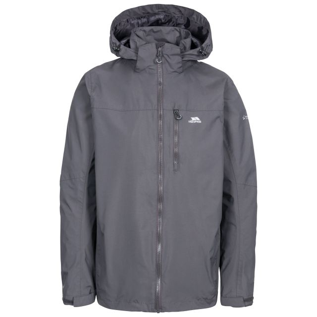 Hamrand Men's Waterproof Jacket in Grey